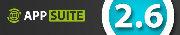 Event: AppSuite Update 2.6 verfügbar