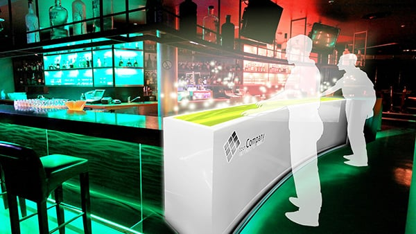 Interactive Digital Signage: Bar, Club, Party