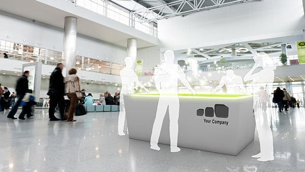 Interactive Digital Signage: Exhibition, Event, Roadshow