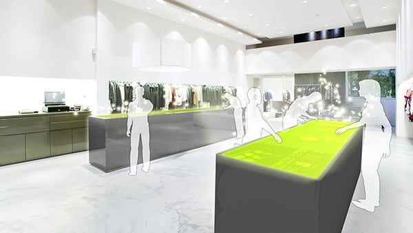Interactive Digital Signage: Flagship Store, Shop, Commerce