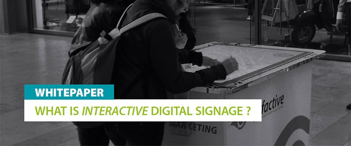 Was ist Interactive Digital Signage? 2