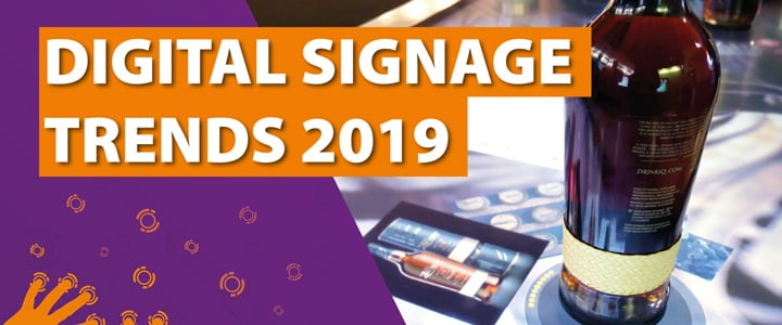 4 Digital Signage Trends für 2019
