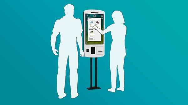 New Product: Touchscreen POS Self-Order Kiosk MIRA 2