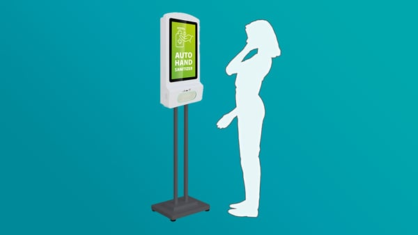 New Product: Hand Sanitizer Kiosk SIGMA 2