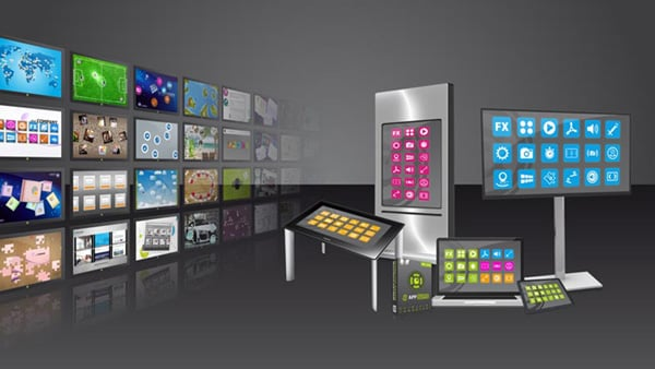 Multi Touch Screen Software: AppStore