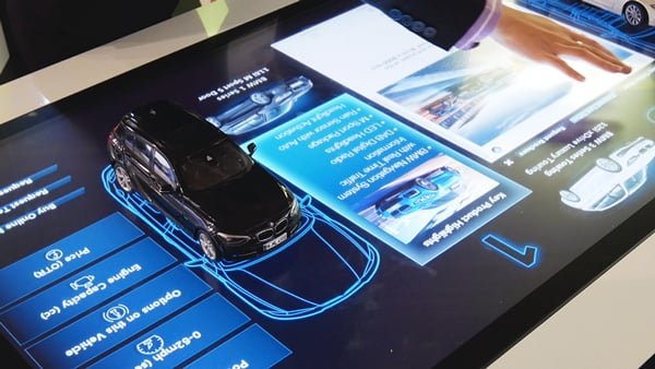 Multi Touch Screen Technologies