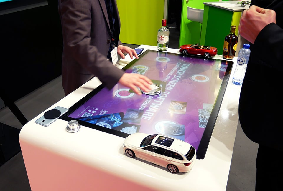 Premium Touch Screen Solutions With Object Recognition By