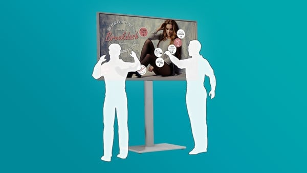 LCD Multi Touch Screen Displays & Video Walls