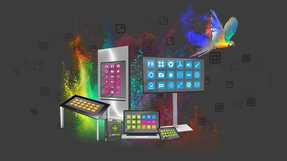 Products: Multi Touch Screen Software and App Store