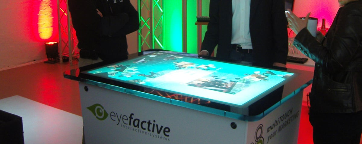 Robust Multi Touch Screen Table AEON