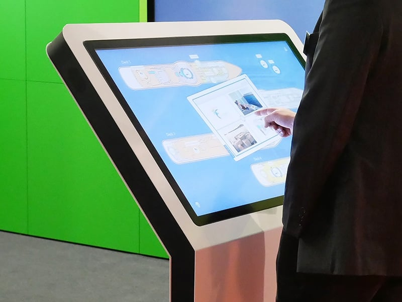 Advantages: Multitouch Screen Terminals