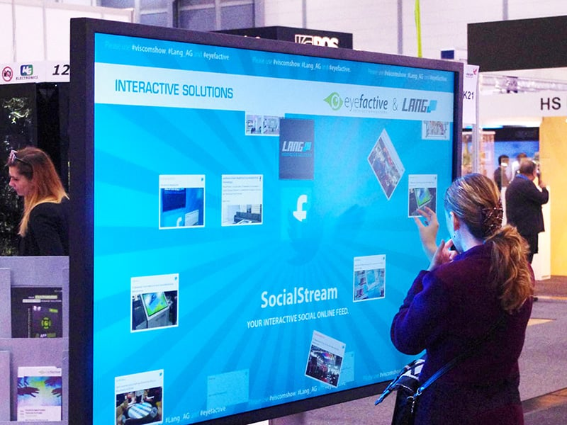 Warum interaktive Multi Touch Screen Displays & Monitore