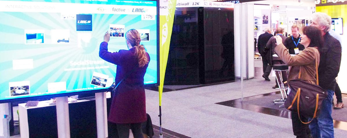 Interaktive Touchscreen Displays