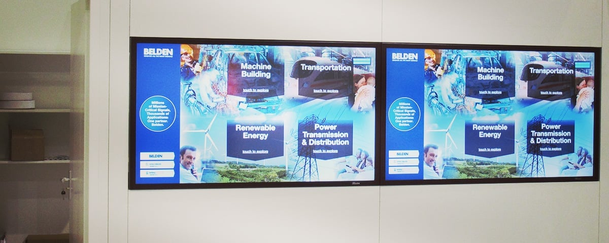 Interactive Touchscreen Monitors & Displays