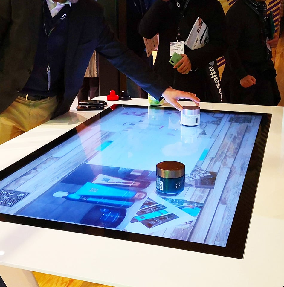 Advantages Multitouch Screen Tables