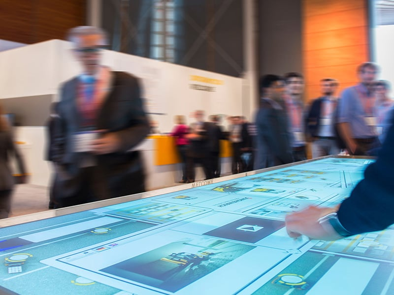 Warum interaktive Multi Touch Screen Installationen