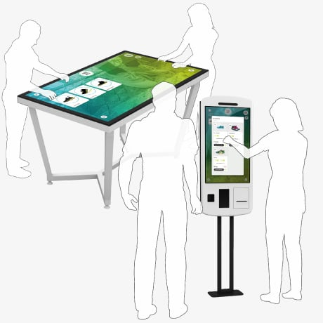 Retail Touchscreen App: Point of Sale / POS: Shopping Assistant