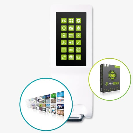 MultiTouch Hand Sanitizer Kiosk: Touchscreen Software & Apps