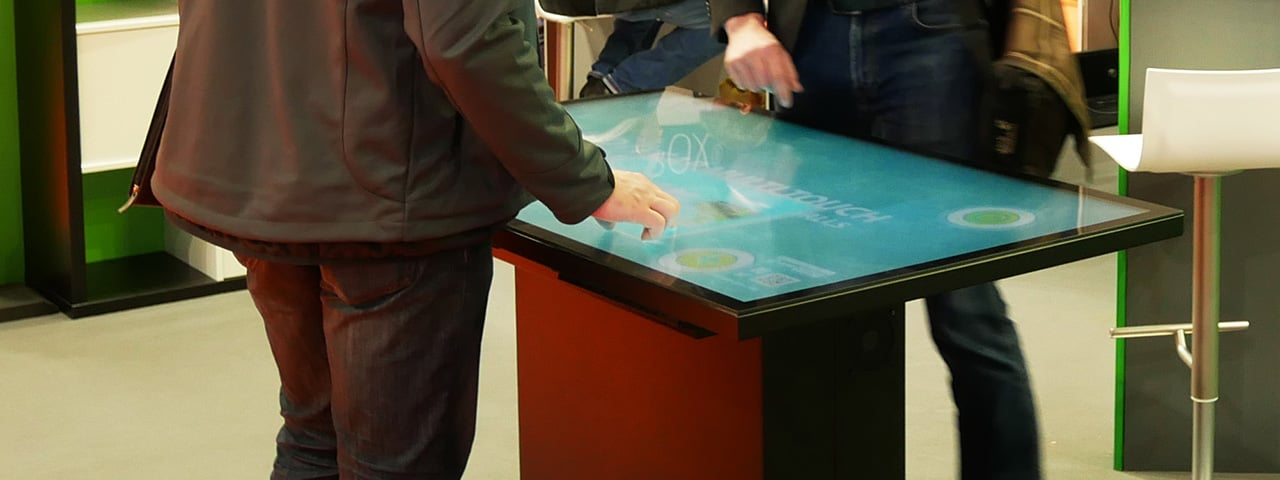 Multitouch Screen Table TAURUS 01