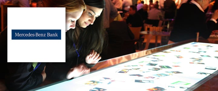 Interactive 3m MultiTouch Table with MultiUser Software