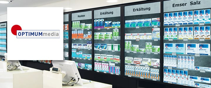 Interactive virtual shelves for the pharmacy of the future