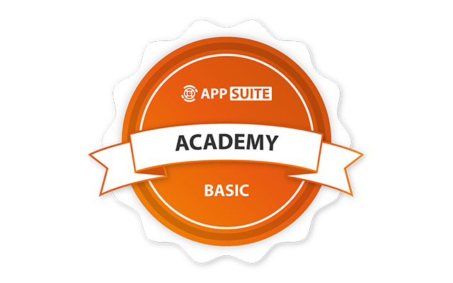 Logo: AppSuite Academy Basic Touchscreen CMS Workshop