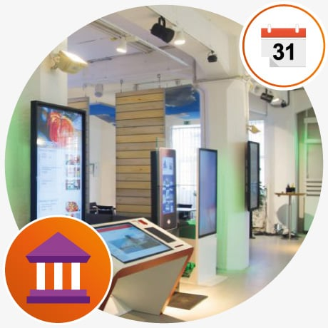 Interactive Digital Signage Innovation Center