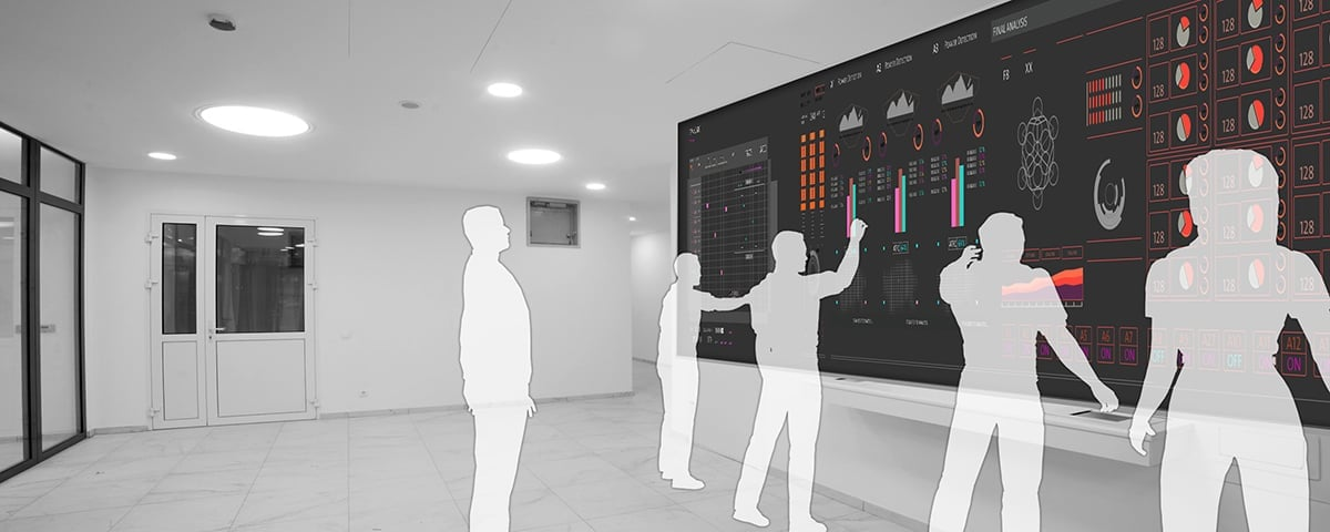Multitouch Screens for Control Room