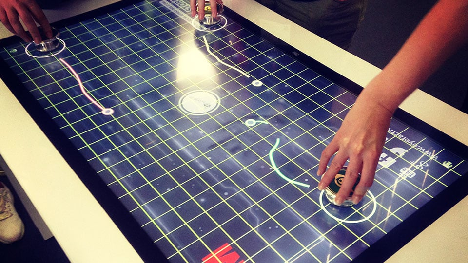 Touchscreen Object Recognition: Games and Effects