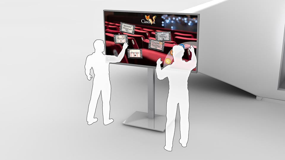 Digital Signage Trend: Touchscreens