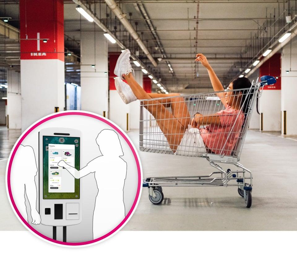 Selbstbedienungs-Terminals werden dazu beitragen, den menschlichen Kontakt zu minimieren