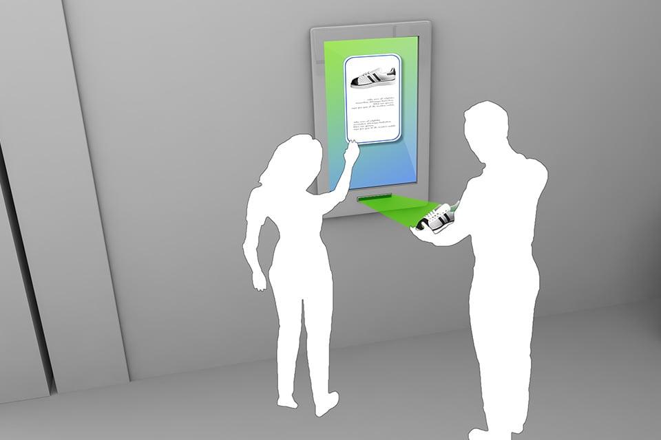 NFC/RFID gekennzeichnete Smarte Produkte