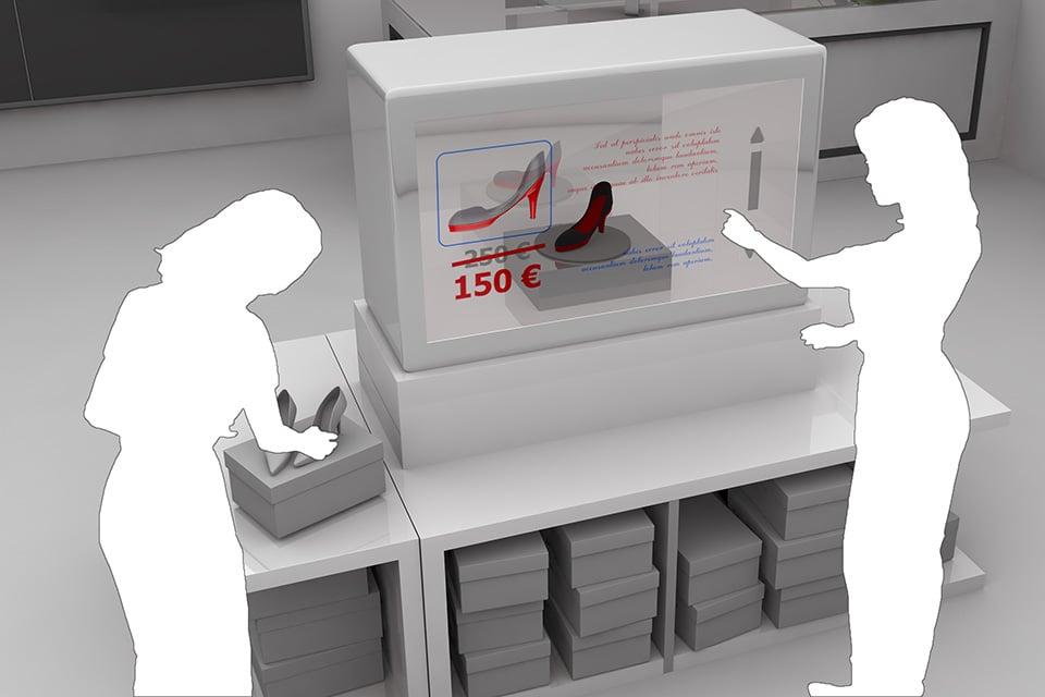 Transparent Touchscreen Displays