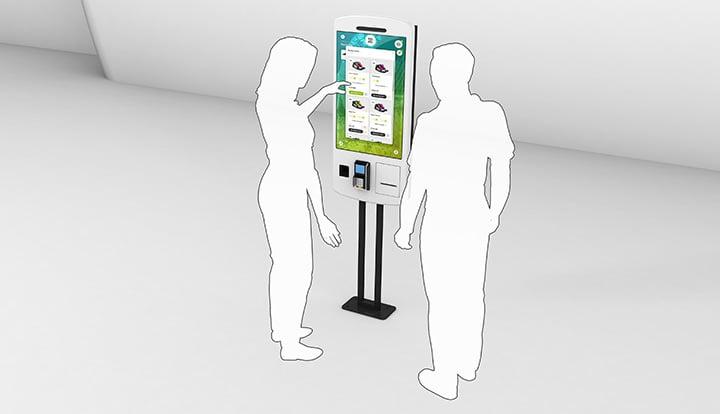Retail: Interaktive Self-Order Terminals